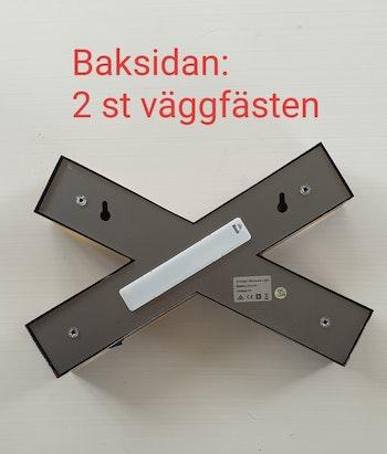 "Stikkan Design ""Ledkrysslampa"""
