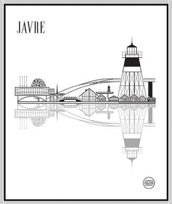 Poster Jävre från Hojna Wilma