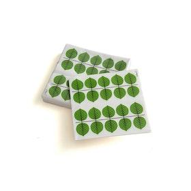 Berså servetter i grönt