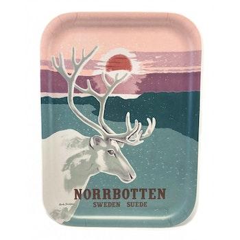 Norrbotten bricka