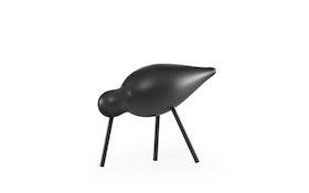 Shorebird svart, mellan