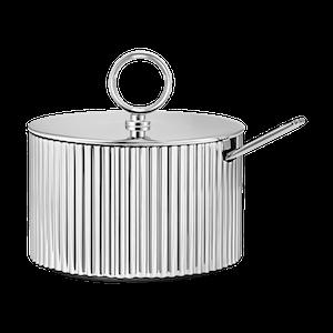 Sigvard Bernadotte, sockerskål med lock och sked