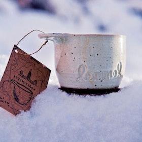 """LEMMEL Kåsa """"Betula"""" i keramik"""