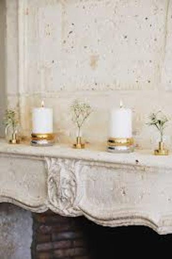 Klong-Marriage ljusstake för blockljus