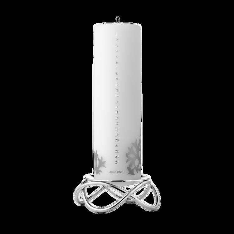 Georg Jensen-Glow, rostfritt stål inkl datumljus