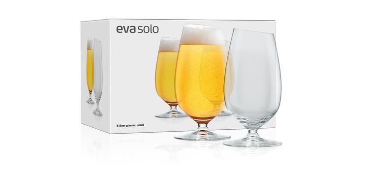 EVA SOLO 6 ST ÖLGLAS LÅG O,35 LIT