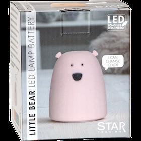 NATTLAMPA-LITTLE BEAR Höjd:10 cm