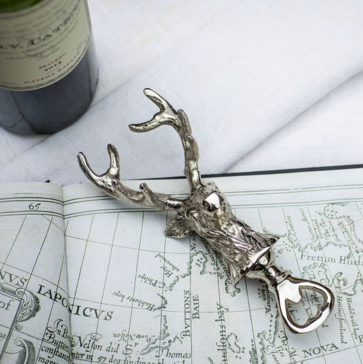 STAG HEAD BOTTLE OPENER