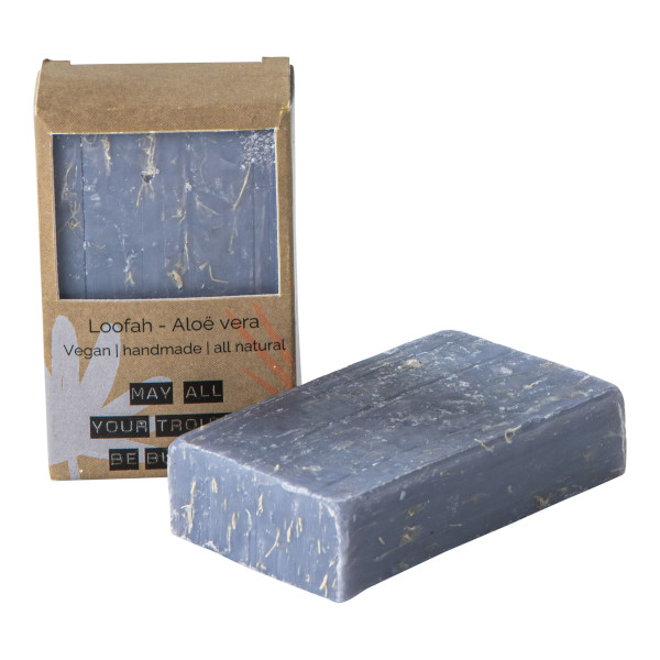 VEGAN SOAP BAR LOOFAH ALOE VERA