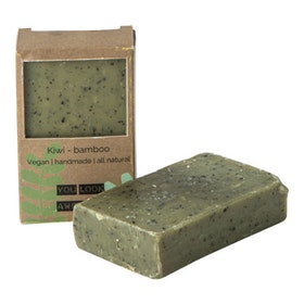 VEGAN SOAP BAR KIWI BAMBOO