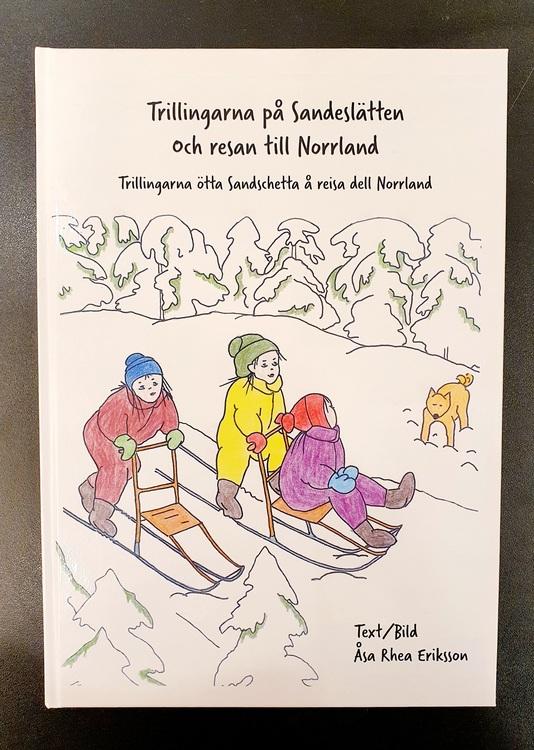 """BARNBOK PÅ PITEBONDSKA: """"TRILLINGARNA PÅ SANDESLÄTTEN"""""""