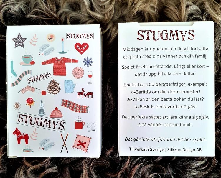 """STIKKAN DESIGN-KORTSPEL """"STUGMYS"""""""