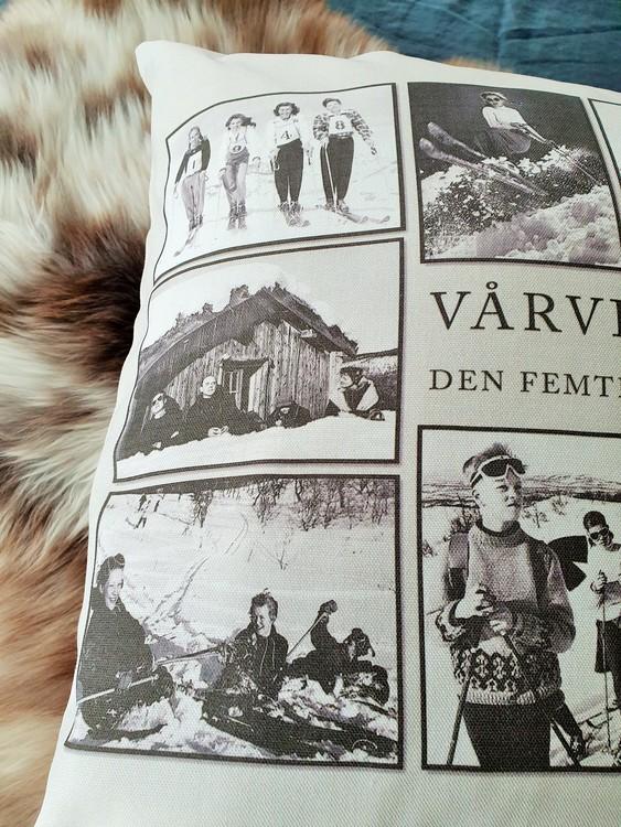 STIKKAN DESIGN-KUDDFODRAL VÅRVINTER