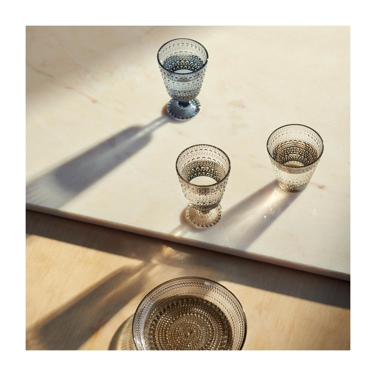 IITTALA KASTEHELMI GLAS 2-PACK LINNE