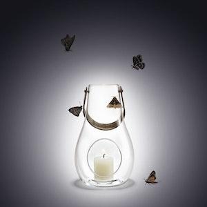 HOLMEGAARD LJUSLYKTA, DESIGN WITH LIGHT 25 CM