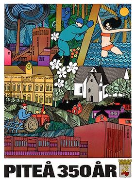 Poster  Piteå 350 år, 50*70 cm