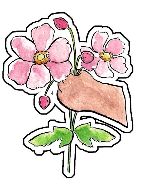 Sticker Höstanemon