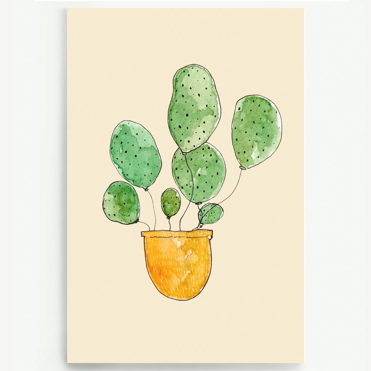 Kort - Kaktusballonger