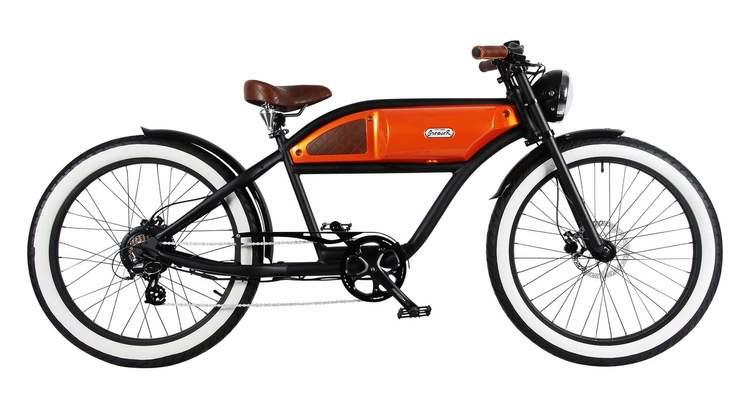Greaser Svart/Orange