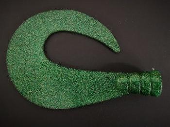 Grön-glitter