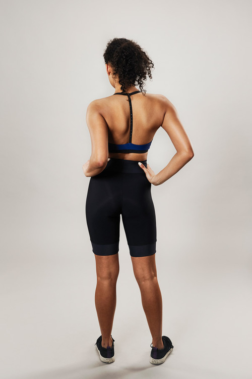 modern sports bra - navy - passionice - back