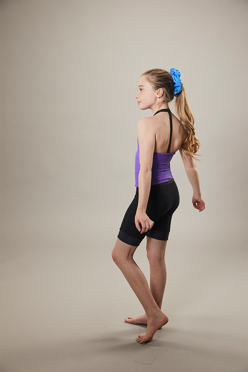 ice skating tank top - on off - purple - side