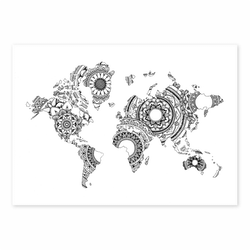 MANDALA WORLDMAP