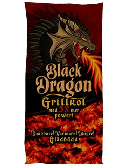 GRILLKOL BLACK DRAGON 2 KG