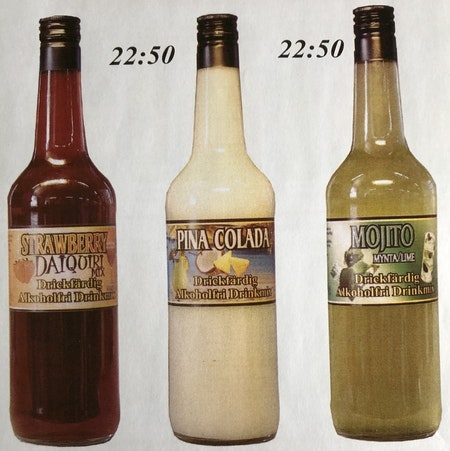 DRINKMIX STRAWBERRY DAIQUIRI, 75 CL