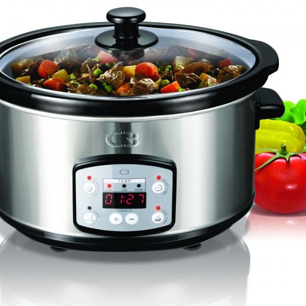 SLOWCOOKER, C3,  3,5 LITER, DIGITAL DISPLAY