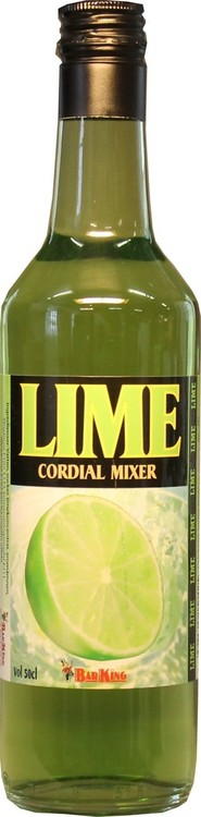 DRINKMIX LIME CORDIAL, 50 CL