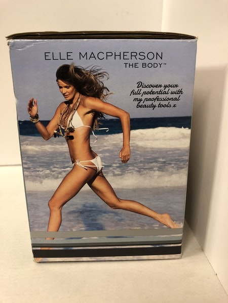 MASSAGEBORSTE TORR  ELDRIVEN ROTERANDE / ELLE MACPERSON /REA