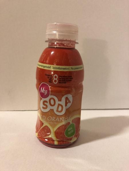 MY SODA / BORDSVATTEN / BLODAPELSIN  / REA