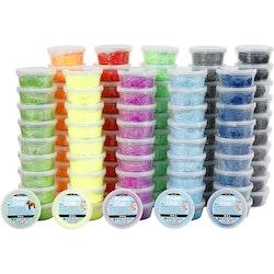 Foam Clay, flera olika färger