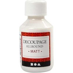 Decoupagelack matt