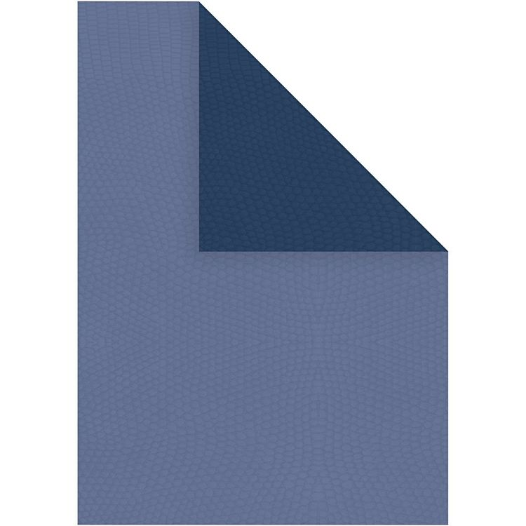 Strukturpapper blå