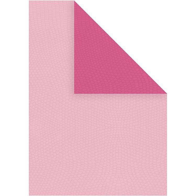 Strukturpapper rosa