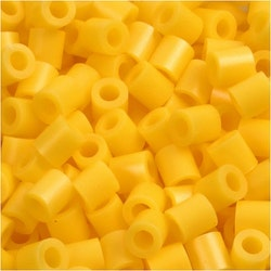 Rörpärlor gul