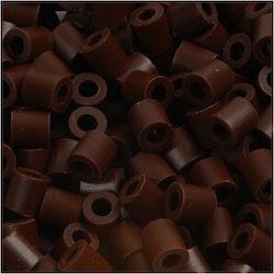 Rörpärlor brun