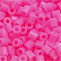 Rörpärlor rosa
