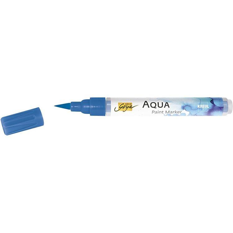 SOLO GOYA Aqua Paint Marker blå