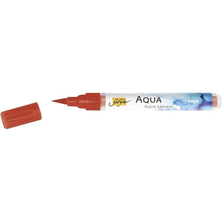 SOLO GOYA Aqua Paint Marker röd