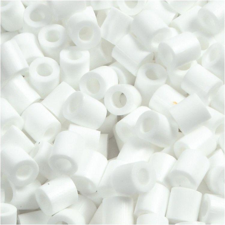 Rörpärlor vit