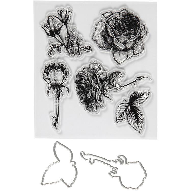 Stansar/Stämplar Blomor