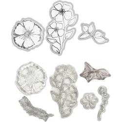 Stansar/Stämplar Blommor
