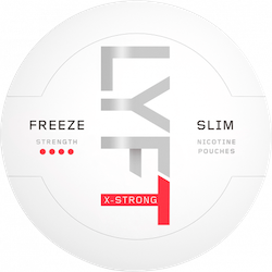 LYFT Freeze X-Strong Slim All White Portion