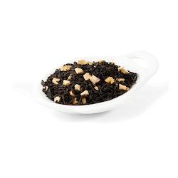 Svart Te - Rabarber med grädde