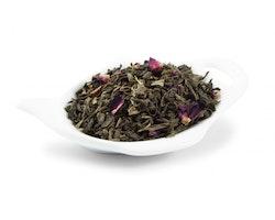 Grönt Te - Rabarber med grädde