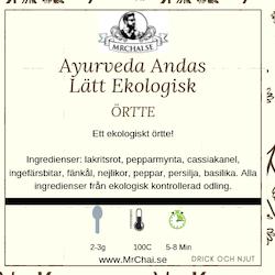 Ekologisk Ayurveda - Andas Lätt