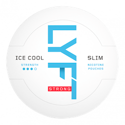 LYFT Ice Cool Strong Mint Slim All White Portion